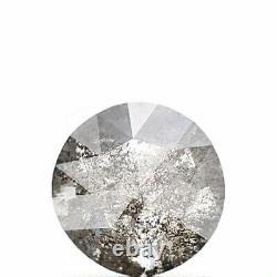 1.01 Carat Natural Diamond Rose Cut Gray Salt & Pepper Natural Loose Diamond