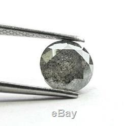 1.35 Ct Rare Natural Diamond Round Salt and Pepper Diamond Natural Loose Diamond