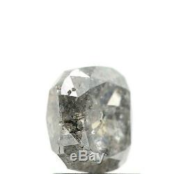 1.48 Carat Natural Diamond Cushion Shape Salt And Pepper Natural Loose Diamond