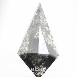 1.54 Cts Natural Diamond Kite Shape Black Salt and Pepper Natural Loose Diamond