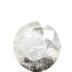 1.59 Carat Natural Salt And Pepper Gray Round Cut Natural Loose Diamond