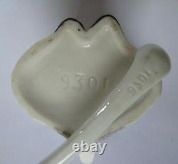 1930s German Porcelain Clown Salt Pepper & Mustard Figure/Figural Condiment Set
