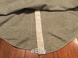 1930s Vintage Workwear Shirt Salt Pepper Cigarette Pocket Gussets DEADSTOCK