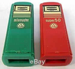 1950's CITIES SERVICE TROY OHIO pair of matched GAS PUMP salt & pepper shakers