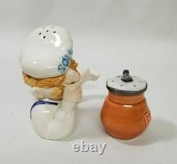 1980's Jim Henson/Muppet Show Ceramic SWEEDISH CHEF Salt And Pepper By Sigma