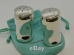 1984 Tiffany & Co. Elsa Peretti Sterling Silver Salt & Pepper Shaker Set