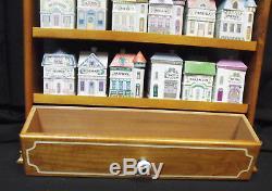 1989 Lenox Spice Village & Accessories 24 Jars, Napkin Holder, Salt & Pepper