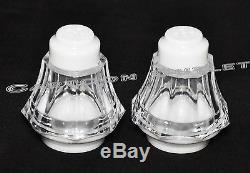 24 Pc Mini Salt And Pepper Shakers Quinceanera Boda Bautizo White Table Decor