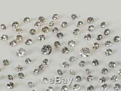 4.19 Carat TW Loose Natural Salt & Pepper Diamond Melee Lot