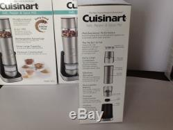 4 -Brand New Cuisinart Salt, Pepper And Spice Mills -Quantity of 4