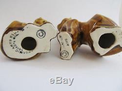 Ancient Cats Egyptian Tabby & Kit Salt& Pepper Shakers Ceramic Arts Studio