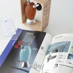 AdHoc Ceramic Salt+Pepper Mill Peperita Pfeffermühle Gewürzmühle alessi nib