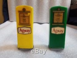 Agway salt pepper gas pump shakers York Pa oil can service station