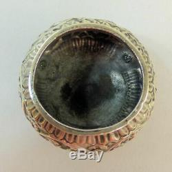 Antique Indian Silver (tested) Salt, Pepper & Mustard Cruet Set C. 1900 115 G