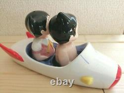 Astro Boy Uran Osamu Tezuka Salt and pepper seasoning container pottery