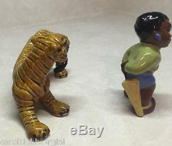 BLACK SAMBO AND THE TIGER BY CERAMIC ARTS STUDIO SALT/PEPPER