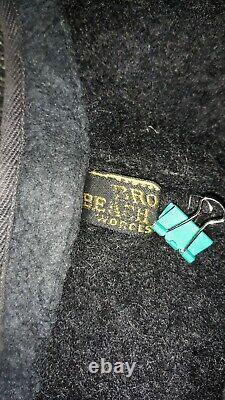 Browns Beach Vest Jacket Antique VTG 1940s 50s Salt & Pepper Button USA