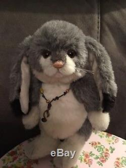 Charlie Bears Salt & Pepper Limited Edition Alpaca/Mohair Bear & Rabbit Set