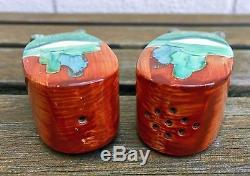 Clarice Cliff -forest Glen- Wilkinson Bonjour Salt/pepper Shaker Cruets Art Deco
