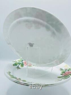 Corelle Elegant Rose 26 Pc Dinnerware Set 4 Tumblers NIB Platter Salt & Pepper