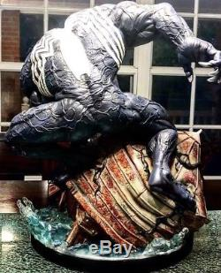 Custom 14 Scale Venom Water Tower Maniac Project Salt And Pepper Statue Damaged
