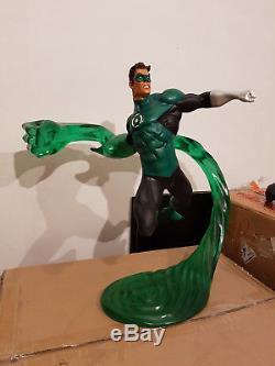 Custom Green Lantern Statue Salt and Pepper DC Superman no Sideshow Bowen XM