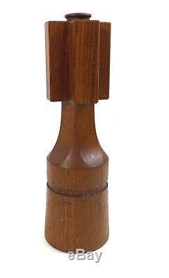 Dansk Designs Chess King Teak Wood Salt/Pepper Mill Jens Quistgaard IHQ/JHQ