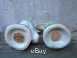 Darbyshire Australian Pottery Kookaburra Salt & Pepper Shakers