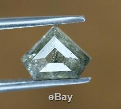 Diamond Shape diamond salt and pepper Color Diamond 1.15 CT Loose Diamond For U
