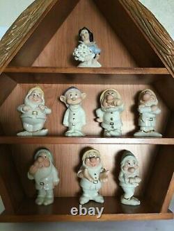 Disney Lenox / Brooks & Bentley Snow White & Seven Dwarfs Salt & Pepper Sets