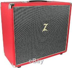 Dr. Z 2x10 Extension Cabinet in Red & Salt/Pepper New