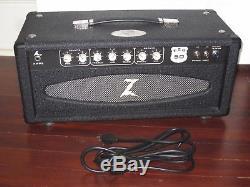 Dr Z EZG-50 20th Anniversary Head Black Tolex Salt Pepper Grill 6L6 Blackface