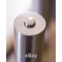 Electric Salt & Pepper Stainless Steel Grinder Set Adjustable New LED Zelancio