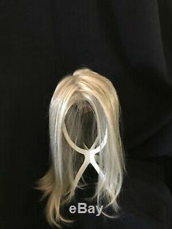 Envy Human Hair Wig Chelsea Uncut Salt & Pepper Gray NEW Never Worn