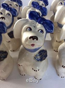 Extremely Rare 6 Pair Uncirculated Shawnee Muggsy Salt & Pepper Shakers In Box