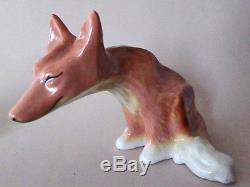 Fox And Goose Salt And Pepper Shakers Ceramic Arts Studio 1952 Very Cute