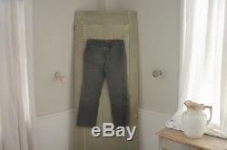 French Work wear pants salt & pepper Vintage Clothing trouser 34 inch waist 1930