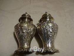 Gorham Chantilly Grand Salt And Pepper Shakers