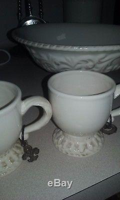 Gg collection gracious goods cups, salt & pepper set, bowl