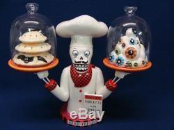 Glitterville Bone Appetite Chief W Salt And Pepper Fab Mib Halloween Retired
