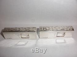 Great Vintage Chinese Export Sterling Silver Salt & Pepper Shakers Abacus