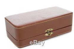 Gucci Pewter Quail Vintage Salt & Pepper Shaker withoriginal Box