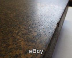 HERMAN 12 x 18 x 4-1/4 Granite Plate SALT PEPPER 2 Ledges