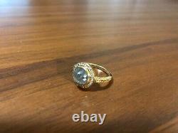 Handmade Designer Engagement Ring 5.16ct Salt & Pepper Diamond with 1mm Halo