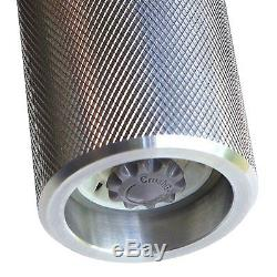 Heavy-Duty Aircraft Grade Aluminum Salt And Pepper Mill or Spice Grinder