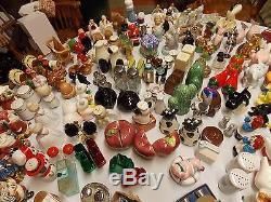 Huge Lot of Vintage Salt and Pepper Shakers