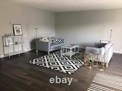 IKEA Karlstad3 SeatIsunda Gray NEW Salt Pepper Tweed(MatesAvail)Sofa COVER NIP