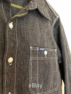 Iron Heart Gray Salt & Pepper Work Shirt Size Medium