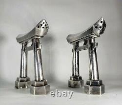 Japanese Sterling Silver Torii Gate Salt & Pepper Shakers