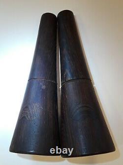 Jens Quistgaard RARE WOODS Collection WENGE Wood Salt And Pepper Mill Set Dansk